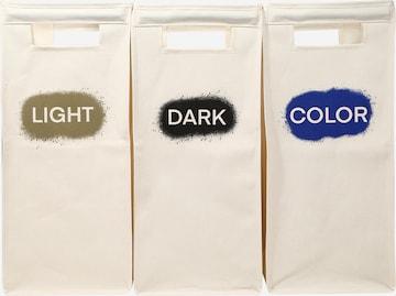 ABOUT YOU Kosz na pranie 'Single Cube 3er Set' w kolorze beżowy