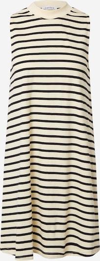 EDITED Kleid 'Aleana' in creme / schwarz, Produktansicht