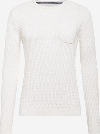 Pulover TOM TAILOR pe alb, Vizualizare produs