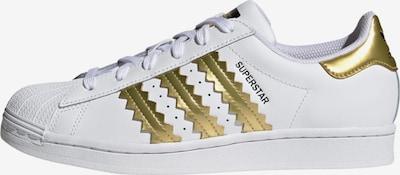 ADIDAS ORIGINALS Sneaker 'Superstar' in gold / weiß, Produktansicht