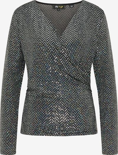 myMo at night Shirt in schwarz / silber, Produktansicht