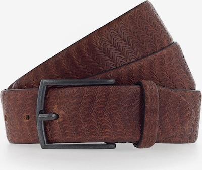 b.belt Handmade in Germany Riem 'Matteo' in de kleur Bruin, Productweergave