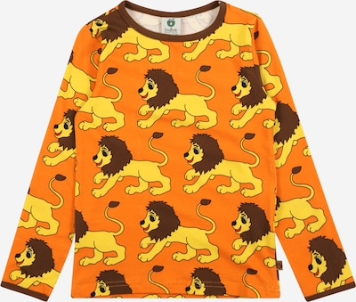 Småfolk T-Shirt en mélange de couleurs / orange, Vue avec produit