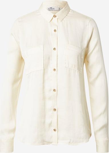 HOLLISTER Bluse in wollweiß, Produktansicht