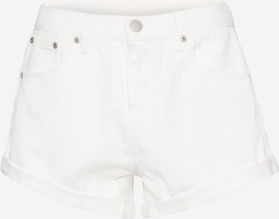 GLAMOROUS Shorts in white denim, Produktansicht