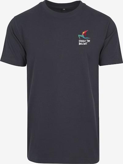 Merchcode T-shirt i mörkblå / röd / vit, Produktvy