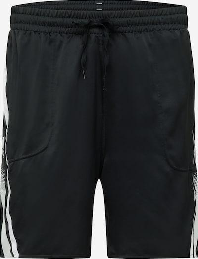 ADIDAS PERFORMANCE Παντελόνι φόρμας 'Seaso' σε γκρι καπνού / μαύρο / λευκό, Άποψη προϊόντος