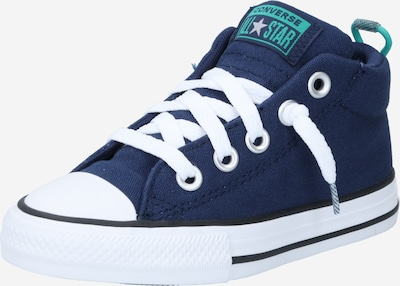 CONVERSE Sneaker 'Chuck Taylor' in navy / türkis / weiß, Produktansicht
