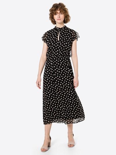s.Oliver BLACK LABEL Kleid in rot / schwarz / weiß, Modelansicht