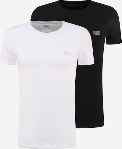 DIESEL T-Shirt 'RANDAL' en noir / blanc, Vue avec produit