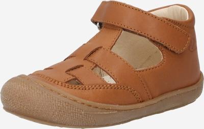 NATURINO Отворени обувки 'Wad' в кафяво, Преглед на продукта