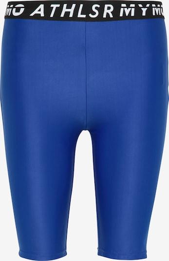 Pantaloni sport myMo ATHLSR pe albastru / negru / alb, Vizualizare produs