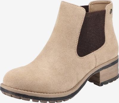 RIEKER Chelsea Boots in hellbraun / dunkelbraun, Produktansicht