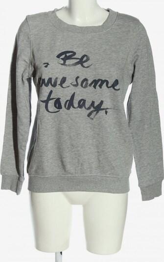 Esmara Sweatshirt in S in hellgrau / schwarz, Produktansicht