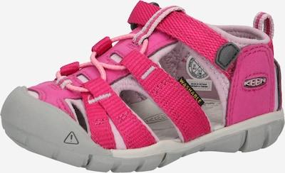 KEEN Sandale in stone / pink / pastellpink, Produktansicht