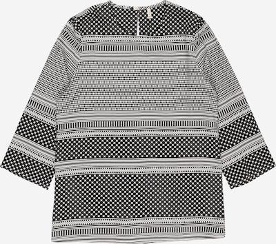 KIDS ONLY Bluse 'NELLA' in schwarz / weiß, Produktansicht