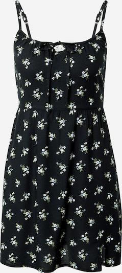 HOLLISTER Vestido de verano en azul paloma / oliva / negro / blanco, Vista del producto