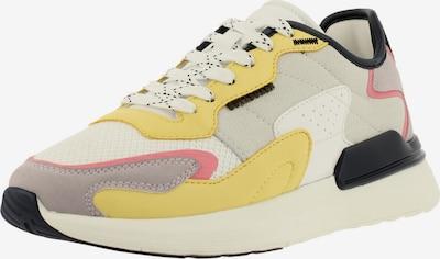 BULLBOXER Sneaker in senf / hellgrau / flieder / pitaya / weiß, Produktansicht