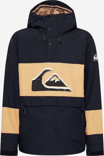 QUIKSILVER Sports jacket 'STEEZE' in Camel / Black / White, Item view