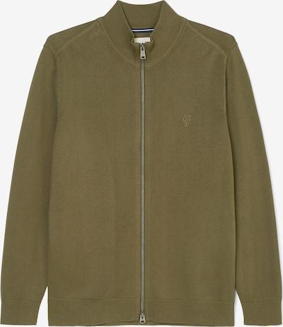Marc O'Polo Zip-Cardigan in grün, Produktansicht