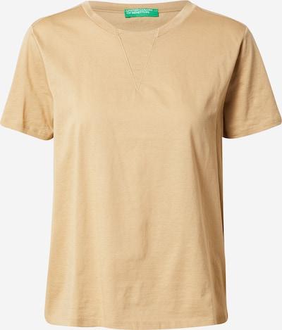 Marškinėliai iš UNITED COLORS OF BENETTON, spalva – smėlio spalva, Prekių apžvalga