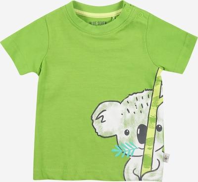 Marškinėliai iš BLUE SEVEN , spalva - turkio spalva / pastelinė geltona / šviesiai pilka / žalia, Prekių apžvalga