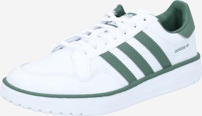 Sneaker bassa 'TEAM COURT' ADIDAS ORIGINALS di colore verde / bianco, Visualizzazione prodotti
