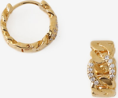 Orecchini 'Chain Pave' Orelia di colore oro / bianco, Visualizzazione prodotti