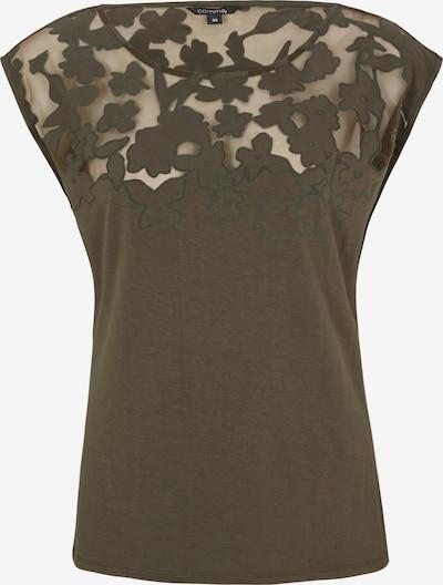 COMMA T-Shirt in khaki, Produktansicht