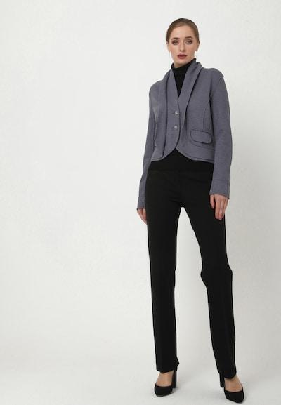 Madam-T Blazer 'SCHALKA' in grau, Modelansicht