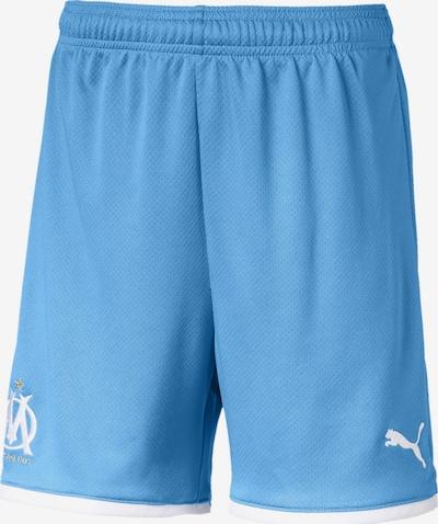 PUMA Shorts 'Olympique de Marseille' in azur / weiß, Produktansicht