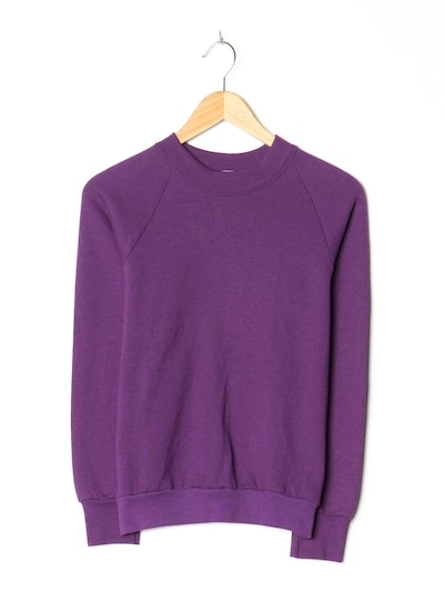 FRUIT OF THE LOOM Pullover in S in lila, Produktansicht