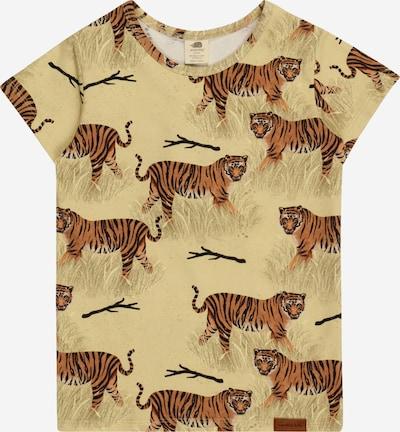 Walkiddy Shirt in zitrone / goldgelb / schwarz / weiß, Produktansicht