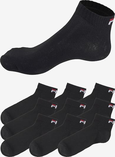 FILA Kurzsocken in schwarz, Produktansicht