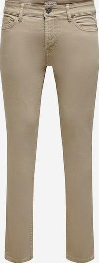 Only & Sons Jeans 'ONSLOOM LIFE SLIM' in de kleur Bruin, Productweergave