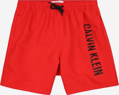 Calvin Klein Swimwear Bermudas en rojo / negro, Vista del producto