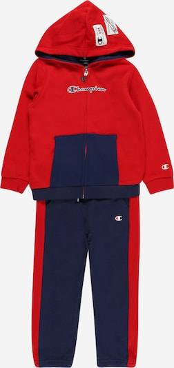 Champion Authentic Athletic Apparel Jogginganzug in navy / rot, Produktansicht