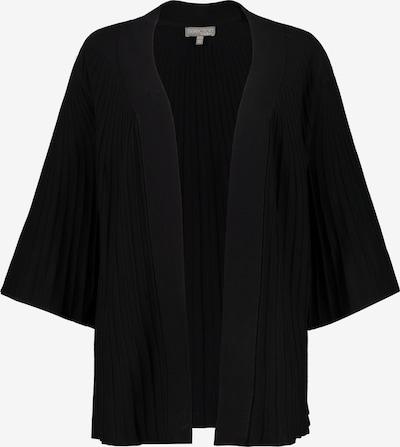 Ulla Popken Strickjacke in schwarz, Produktansicht