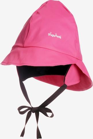 PLAYSHOES Regenmütze in Pink