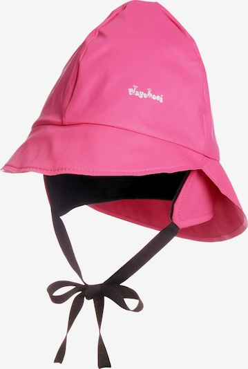 PLAYSHOES Bonnet en fuchsia / noir, Vue avec produit