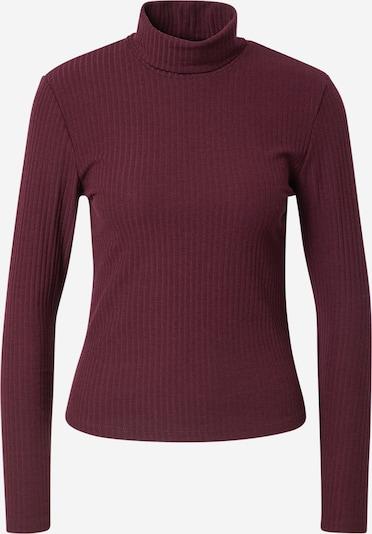 ONLY T-shirt 'NELLA' en rouge foncé, Vue avec produit