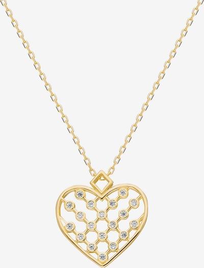 Dkeniz Silberkette Herz Kette in gold, Produktansicht
