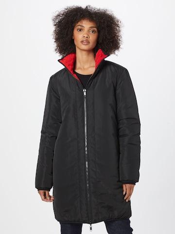 Love Moschino Prechodný kabát - Čierna