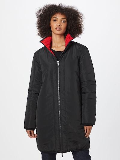 Love Moschino Mantel in rot / schwarz / weiß, Modelansicht