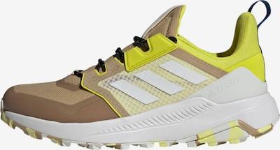 adidas Terrex Wanderschuh in beige / neongelb / weiß, Produktansicht