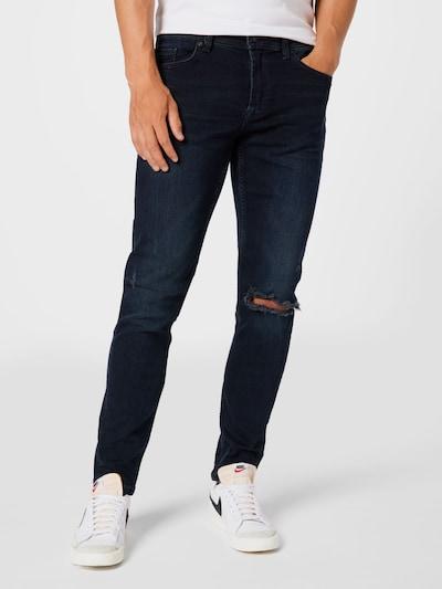 Only & Sons Jeans i marinblå, På modell
