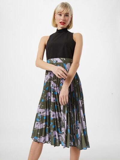 Closet London Kleid in oliv / mischfarben, Modelansicht