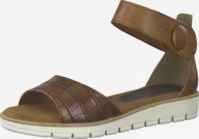 MARCO TOZZI Sandales en marron, Vue avec produit