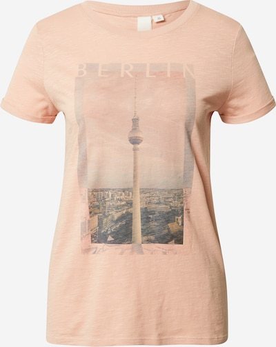 Q/S designed by T-Shirt in rosé, Produktansicht