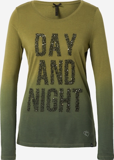 Key Largo Shirt in khaki / dunkelgrün, Produktansicht